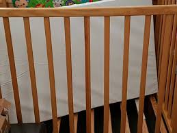 kiddicare compact space saver cot with mattress l96xh90xw59 5cm