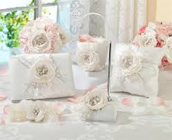 Shabby Chic Wedding Accessories by Matching Wedding Accessories Set Chic U0026 Shabby