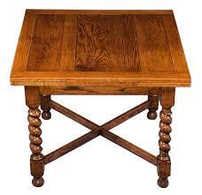 antique draw leaf table english oak antique barley twist draw leaf pub table dining game