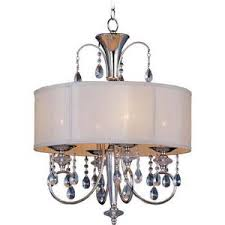Maxim Chandelier M24304clbspn Montgomery Mini Chandelier Polished Nickel At The