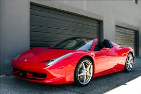 rent a 458 rent 458 spider los angeles premiere car rentals
