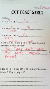 best 25 order of operations ideas on pinterest 5th grade math