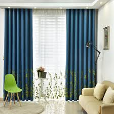 Blackout Window Curtains Online Get Cheap Country Curtain Patterns Aliexpress Com
