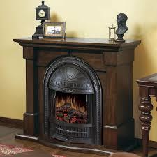 rustic electric fireplace interior design