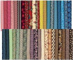 5 square civil war fabric collection precut size fabrics
