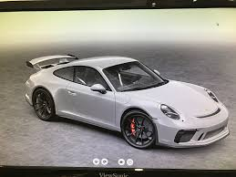 porsche chalk 991 2 2018 porsche 911 gt3 officially revealed 500 hp from a
