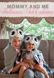 Mommy Halloween Costumes Mommy U0026 Diy Halloween Owl Costumes Crafting Nook
