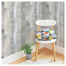 peel and stick wallpaper devine color reclaimed wood peel stick wallpaper mirage target