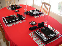 Table Setting Chargers - kitchenqueers com kq red and black fused art glass plates