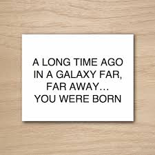 star wars birthday greetings instant download diy printable funny humor star wars happy