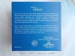 Bedak Marks Venus Two Way Cake safira nys review marcks venus two way cake shade 01 translucent