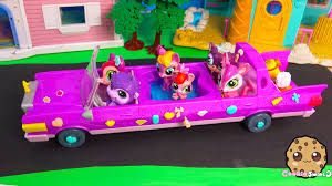 barbie cars with back seats bobblehead littlest pet shop ride in lps limo limousine car with