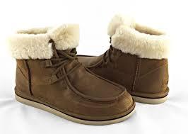 ugg australia sale ebay ugg australia cypress chestnut brown sheepskin fur boots 8