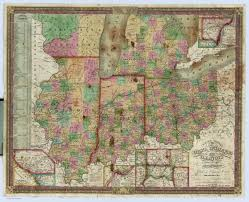 Maps Of Illinois by Ohio Indiana And Illinois David Rumsey Historical Map Collection