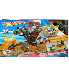 grave digger monster trucks amazon com wheels monster jam grave digger boneyard bash