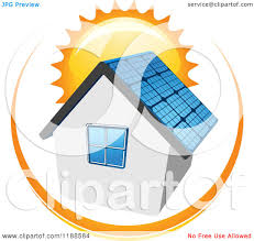 solar panels clipart free clipart of house with solar clipground