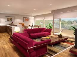 home design room red furniture decorating ideas living with sofa
