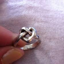 avery heart knot ring avery avery heart knot ring sz 6