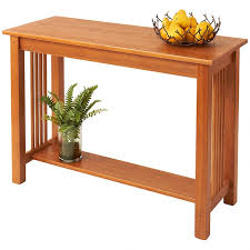 Oak Sofa Table Solid Wood Sofa Table Accent Tables Manchesterwood
