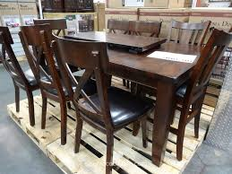 Costco Furniture Dining Room Costco Dining Table Chairs Best Gallery Of Tables Furniture