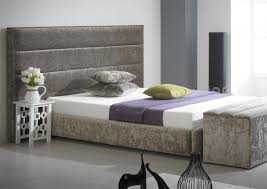 Upholstered King Size Bed Bed Frames Wallpaper Hd Upholstered King Bed Headboard And Bench