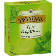 twinings peppermint tea bags 80pk woolworths
