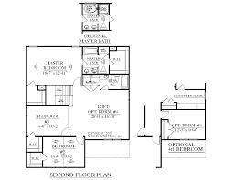 3 Bedroom 2 1 2 Bath Floor Plans Houseplans Biz House Plan 2239 A The Magnolia A