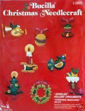 bucilla christmas vintage bucilla felt christmas ornaments ebay