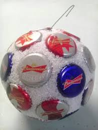 budweiser bottle cap ornament by bottlecapornament