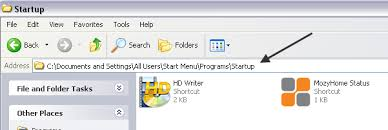membuat database admin dengan xp how to add a program to startup in windows xp