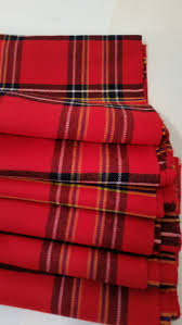 vintage fabric scottish tartan wool plaid u0027inverness u0027 tartan