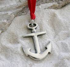 pewter anchor nautical navy christian