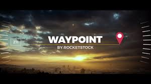 waypoint exoctic slideshow after effects template
