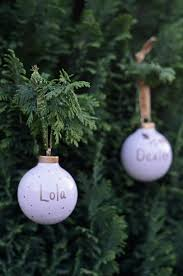 winter wedding diy idea create a personalized ornament for your