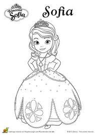 smiling face princess sofia coloring sofia