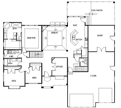 floor plans with basements rambler house plans with basements panowa home plan rambler