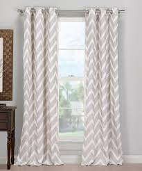 Gray And White Chevron Curtains by Another Great Find On Zulily Taupe Chevron Curtain Panel Set