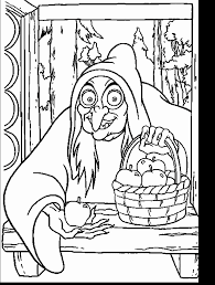 snowwhite coloring pages coloring book walt disney