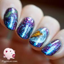 piggieluv exploding planet nail art piggieluv 3d galaxy nail art