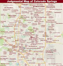 Colorado Maps by Colorado Springs Co By Anonymous Copr 2015 Judgmental Maps All