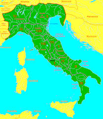 Roman Map Roman Map Of Italy Greece Map