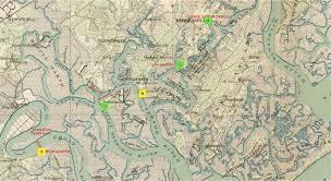 Savannah Ga Map Batteries In The Marshes The Defenses Of Savannah Part 2 To