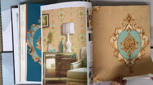 a62 1 wholesale home decor damask design luxury pvc wallpaper