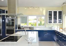 kitchen cabinet glass door ideas blue kitchen kitchen ideas center