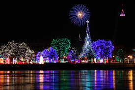 Riverside Light Show by These 7 Wisconsin Cities Are Home To Dazzling Holiday Light Shows