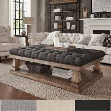 Tufted Leather Cocktail Ottoman by Best 20 Ottomans Ideas On Pinterest Diy Ottoman Upholstery And