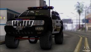 jeep banshee jeep grand cherokee 1999 sheriff for gta san andreas