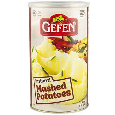 gefen kosher gefen instant mashed potatoes kfp 10 oz passover westernkosher
