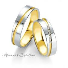 alliance de mariage alliance or jaune et or blanc alliances créations vioz