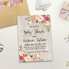 bohemian baby shower boho baby shower invitation printable from digartdesigns on etsy